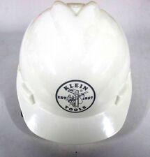 Klein Tools V-Gard Hard Cap with Klein Lineman Logo, White 60019 *NEW*