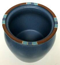 Dansk Mesa Blue Tea Canister Container Jar 1 Qt NO LID