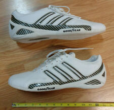 ADIDAS GOODYEAR Shoes Men's US Size 12 White Leather CARBON FIBER driving racing