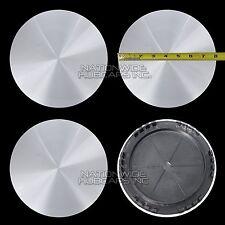 "4 CHEVY GMC 16"" Smooth Aluminum 6 Lug Wheel Center Hub Caps Hubs Rim Nut Covers"