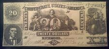 New listing 1861 $20 T-20 Confederate States of America Note