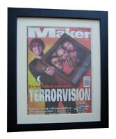 TERRORVISION+MELODY MAKER 1996+POSTER+AD+FRAMED+RARE ORIGINAL+FAST GLOBAL SHIP