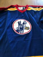 19799275536 2003-2005 CHL San Angelo Saints John Jarram Game issued jersey | eBay