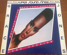 "GRACE JONES Private Life / She's Lost Control *RARE* 1980 GERMANY 12"" DJ VINYL"