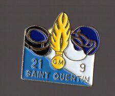 Pin's Police / EGM Escadron de Gendarmerie Mobile 21/9  (Saint Quentin)