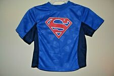 Superman Emblem-Boys Size 2 Toddler-Licensed Short Sleeve Top-Nwot