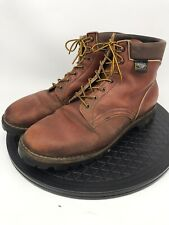 White's Brown Leather Model 353 Work Boots 13EE Vibram Soles
