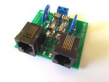Protezione fulmini, sovratensioni per telefono e fax - RJ11, varistori, fusibili