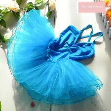 FAIRY PRINCESS UK, GIRLS DANCE BALLET TUTU LEOTARD MANY COLOURS - AGES 3/7 YRS