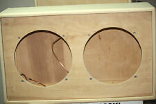 rawcabs DIY and save 2x12 empty rear load close back pine speaker cabinet