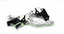 Silver adjustable levers for Kawasaki Ninja 250R Ninja250R 08/10 #LV202#