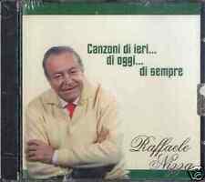 RAFFAELE NIZZA Canzoni di ieri ...di oggi ..CD Sealed