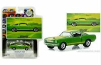 GREENLIGHT VINTAGE AD CARS 1966 FORD MUSTANG SHELBY GT 350 1/64 GREEN 30060
