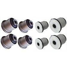 8PC FRONT LOWER & UPPER CONTROL ARM BUSHING FOR TOYOTA TUNDRA SEQUOIA 2 SIDE