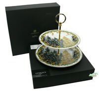 Versace A Winter's Night Etagere mit 2 Etagen Christmas Etagere by Rosenthal NEW