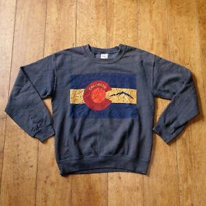COLORADO Sweatshirt Gildan Tag Dark Grey |  S Small