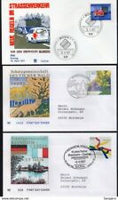 GERMANY DEUTSCHLAND 3 NICE FDC COVERS ERSTTAGSBRIEF