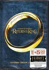 Lord of the Rings Return of the King 2 Disc Extended Dvd New!