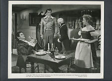 ROCK HUDSON + JEFF MORROW + BARBARA RUSH - 1955 CAPTAIN LIGHTFOOT
