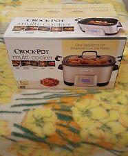 Crock-Pot 5-in-1 Multi-Cooker W/Non-Stick Inner Pot  SCCPMC600-S