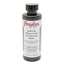 Angelus Roll Call Military Grade Shoe Boot Edge & Heel Dressing w/Applicator 4oz
