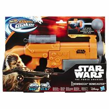 Star Wars Force Awakens Nerf Super Soaker Chewbacca Bowcaster Water Gun Blast