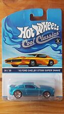 2014 Hot Wheels Cool Classics Shelby Gt500 Super Snake *6 Cars Posted for