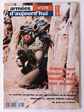 Armées d'Aujourd'hui n°218 du 3/1997; Almandin II à Bangui/ Un pont sur la Drina