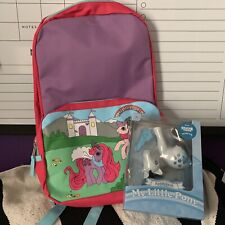 My Little Pony Stranger Things Lot Upside Down Applejack + Backpack Exclusive