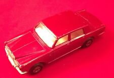 ORIGINAL VINTAGE ROLLS ROYCE SILVER SHADOW NO. 24 MATCHBOX CAR