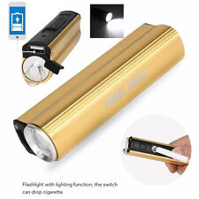 2000 Lumens Rechargable LED Flashlight Cigarette Lighter Torch Bright Light lamp