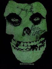Misfits Womens Medium Souls Ablaze 2000 Glow in the Dark  Jerry Only Dez Cadena