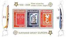 Timbres 50 ans de timbres Europa Surinam BF103 ** année 2006 lot 11001