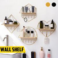 Display Ledge Wall Shelf Storage Hanging Rack Floating Shelves Decoration Home