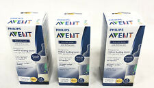 3 Philips Avent Anti-colic Bottles 4oz New Sealed with...