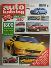auto katalog Modelljahr 1995 Nr. 38 - Vereinigte Motor-Verlage GmbH, 306 Seiten