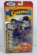 DC Super Heroes Bizarro Superman Action Figure w/Exclusive Comic 2006 Mattel MOC