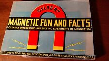 Unusual and Rare 1936 Electricity Game Gilbert Magnetic Fun and Facts