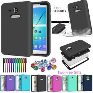 New Hybrid Shockproof Rugged Hard Case Cove For Samsung Galaxy Tab 3 A S2 S3 E