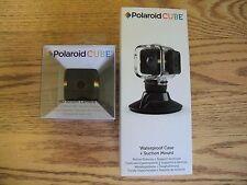 Polaroid Cube 1080p HD Action Video Camera (Black) w/ Waterproof Case POLCBK NEW