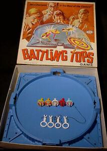 Vintage 1969 Battling Tops Game by Ideal