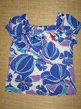 Cap Sleeve Hand-wash Only Casual 100% Cotton Tops & Blouses for Women