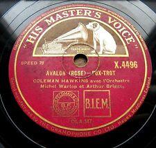 0851/ARTHUR BRIGGS-Django Reinhardt-GRAPPELLY-Coleman Hawkins - 78 tr/min gomme laque
