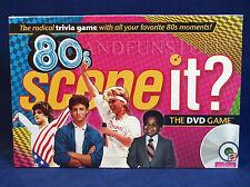 New 80's SCENE IT? DVD Trivia Game - 1980s 80s TV MOVIES Music - FAMILY FUN!