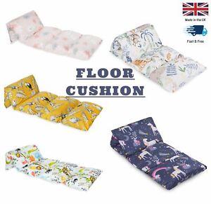 Play Floor Cushion Guest Kids Mattress Lounger Pillow Futon
