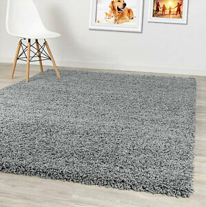Living Room Large Rugs Non Slip Hallway Runner Thick Pile Fluffy Shaggy Rug