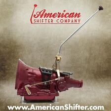 American Shifter 431449 904 Shifter 23 Swan Trim Kit CHR Push Btn BLK Boot Ringed Knob for DD948
