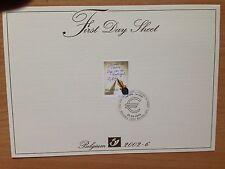 Belgium First Day Sheet 2002 Stamp Day Jour du Timbre Dag van de Postzegel