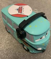 Disney PIXAR Cars 2 VW CAMPER  Piggy Bank Plastic Bullyland New with Tag