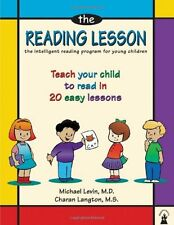 The Reading Lesson: Teach Your Child to Read in 20 Easy Lessons New Paperback Bo